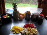 Healthy Living Tips - Our Fruit and Green Breakfast Smoothie Ingredients