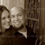Jared Elvidge and his beautiful wife Cory