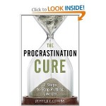 The Procrastination Cure by Jeffery Combs (image from Amazon)