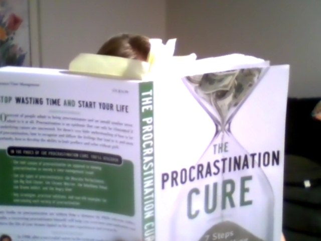 Reading the Procrastination Cure by Jeffery Combs - Click here to read my EXTENSIVE Review...